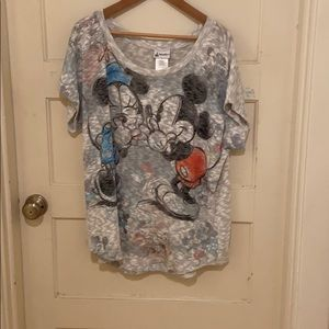 Disney Parks Mickey Minnie Sweater.